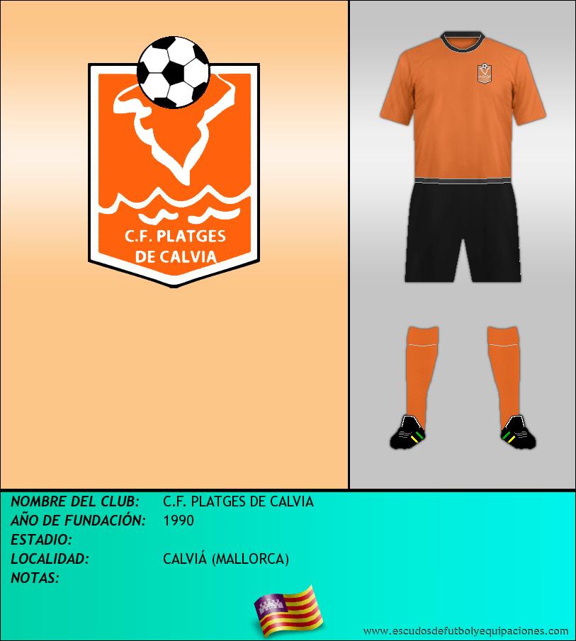 Escudo de C.F. PLATGES DE CALVIA