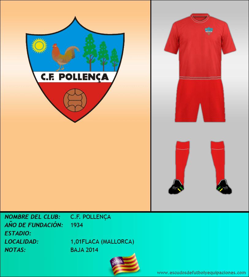Escudo de C.F. POLLENÇA
