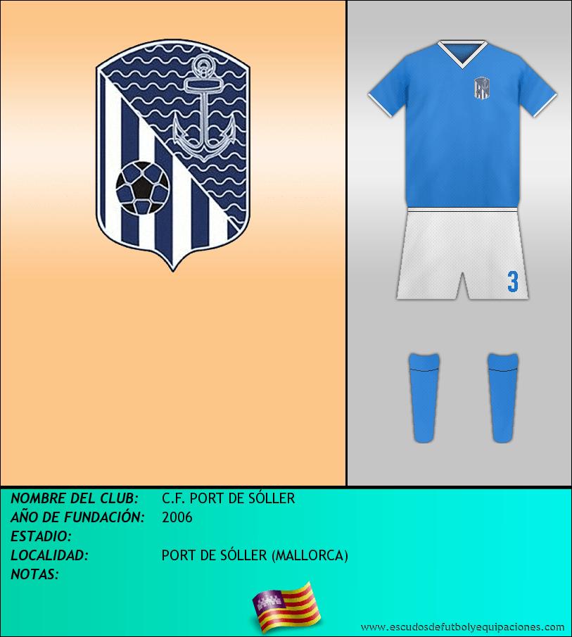 Escudo de C.F. PORT DE SÓLLER