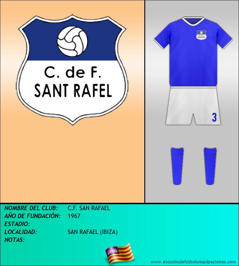 Escudo de C.F. SAN RAFAEL