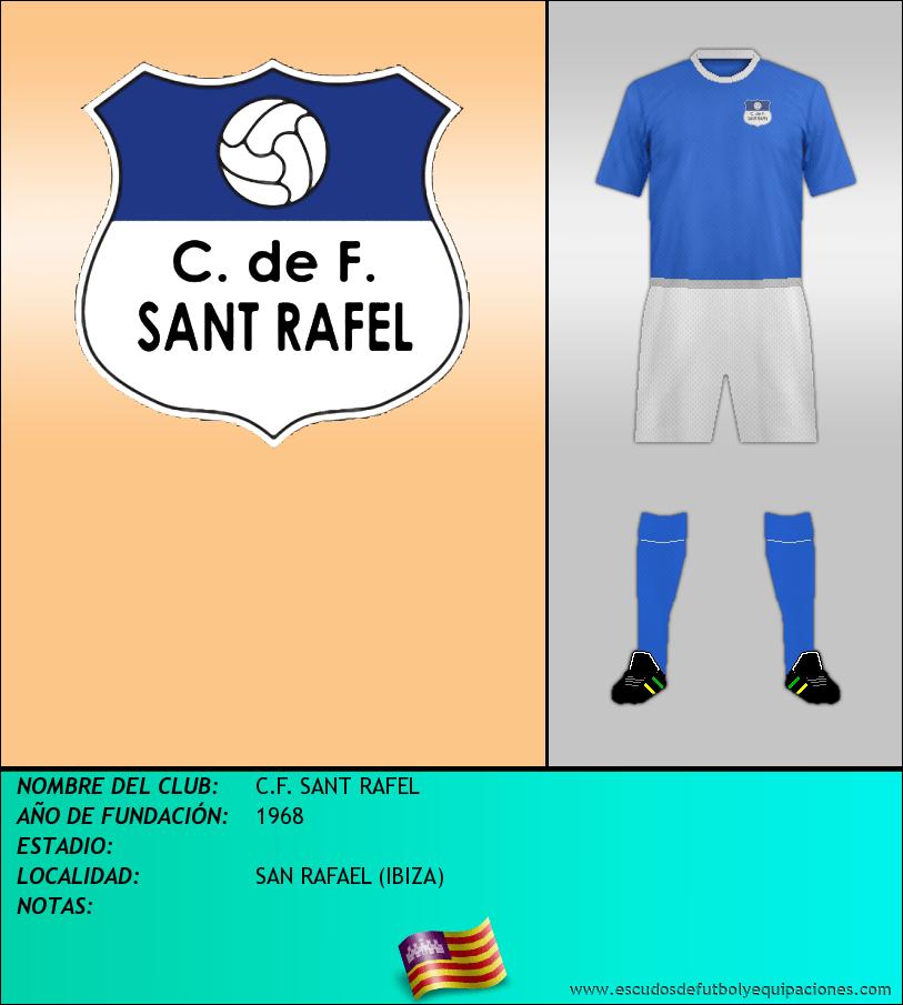 Escudo de C.F. SANT RAFEL