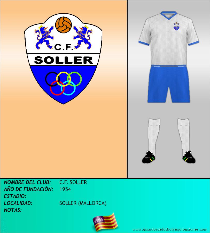 Escudo de C.F. SOLLER