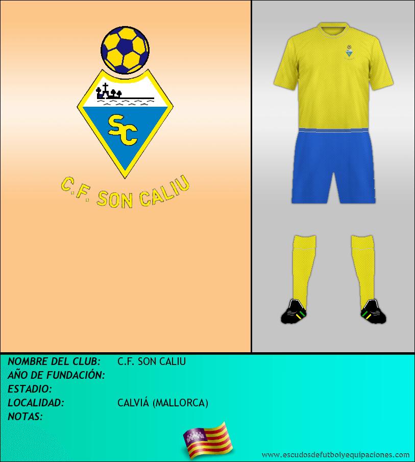 Escudo de C.F. SON CALIU