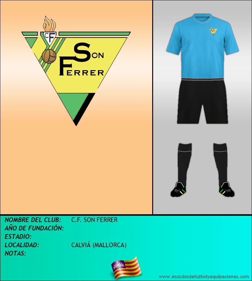 Escudo de C.F. SON FERRER