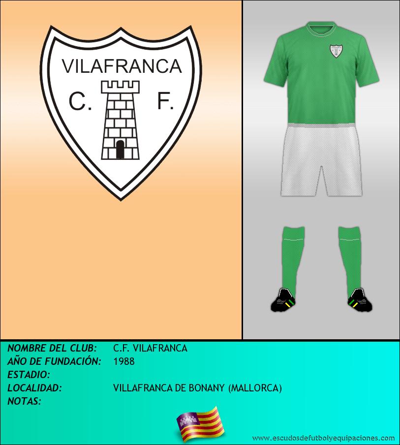 Escudo de C.F. VILAFRANCA