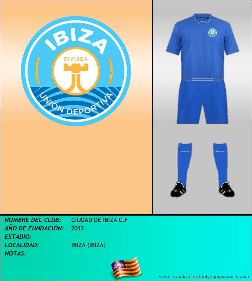 Escudo de CIUDAD DE IBIZA C.F