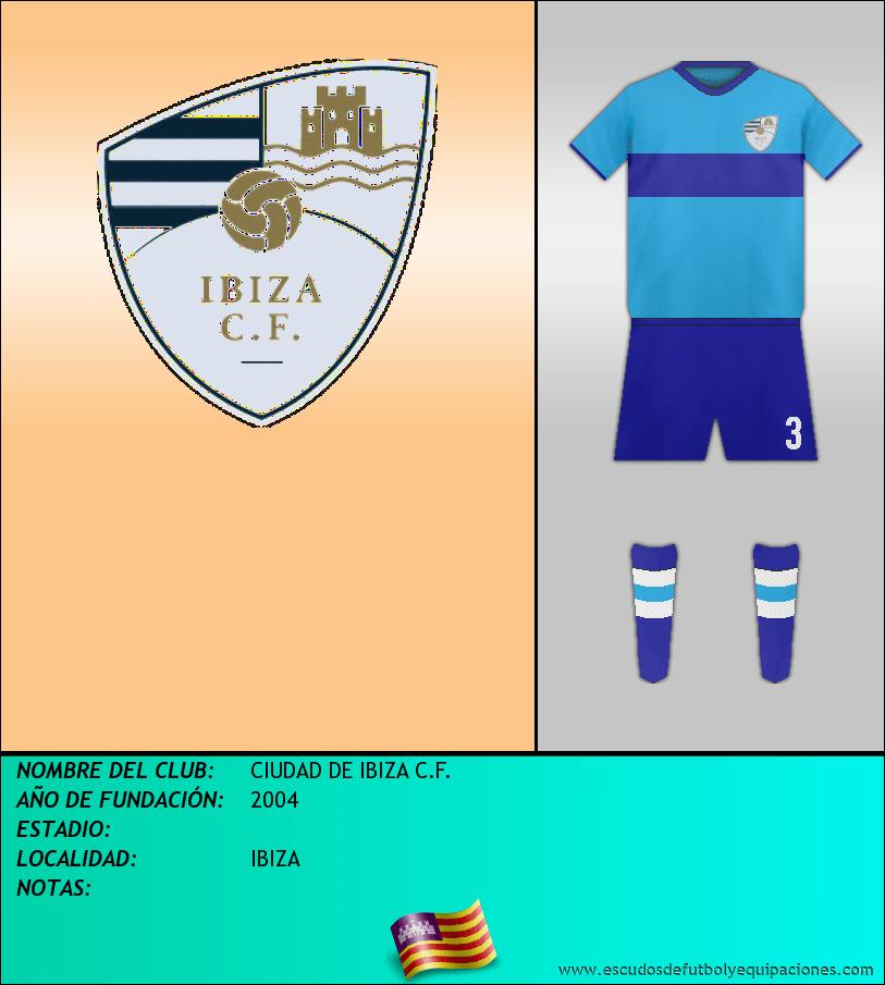 Escudo de CIUDAD DE IBIZA C.F.
