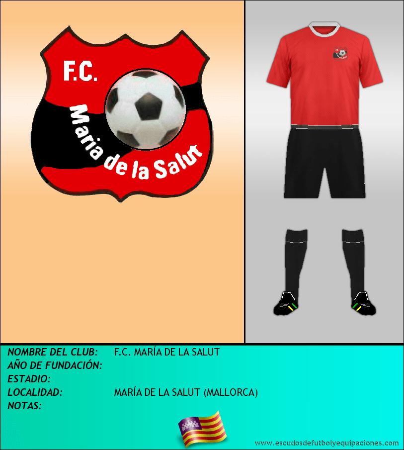 Escudo de F.C. MARÍA DE LA SALUT