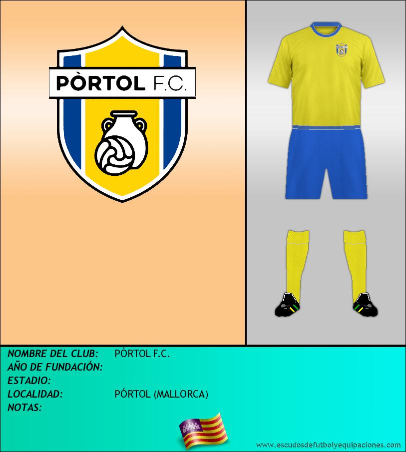 Escudo de PÒRTOL F.C.