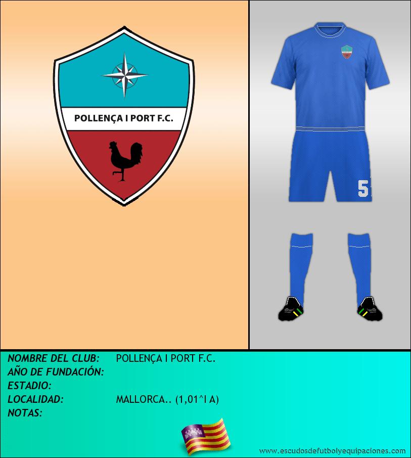 Escudo de POLLENÇA I PORT F.C.