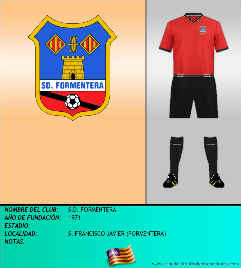 Escudo de S.D. FORMENTERA
