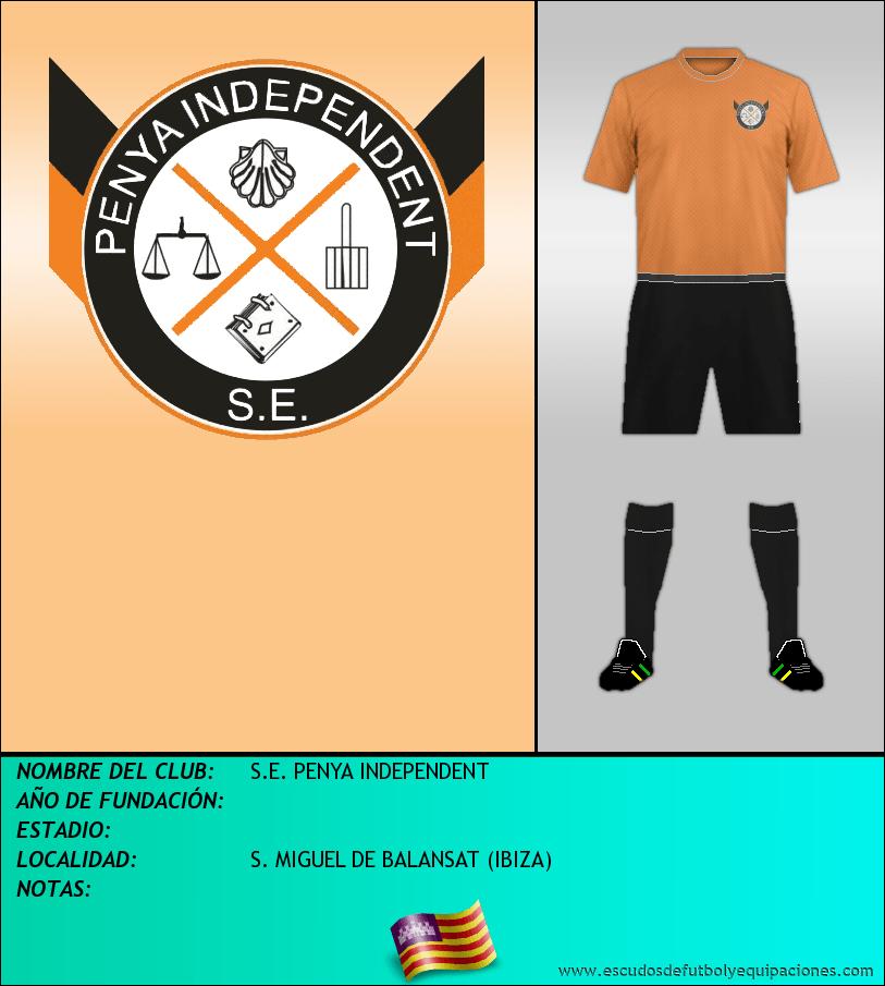 Escudo de S.E. PENYA INDEPENDENT