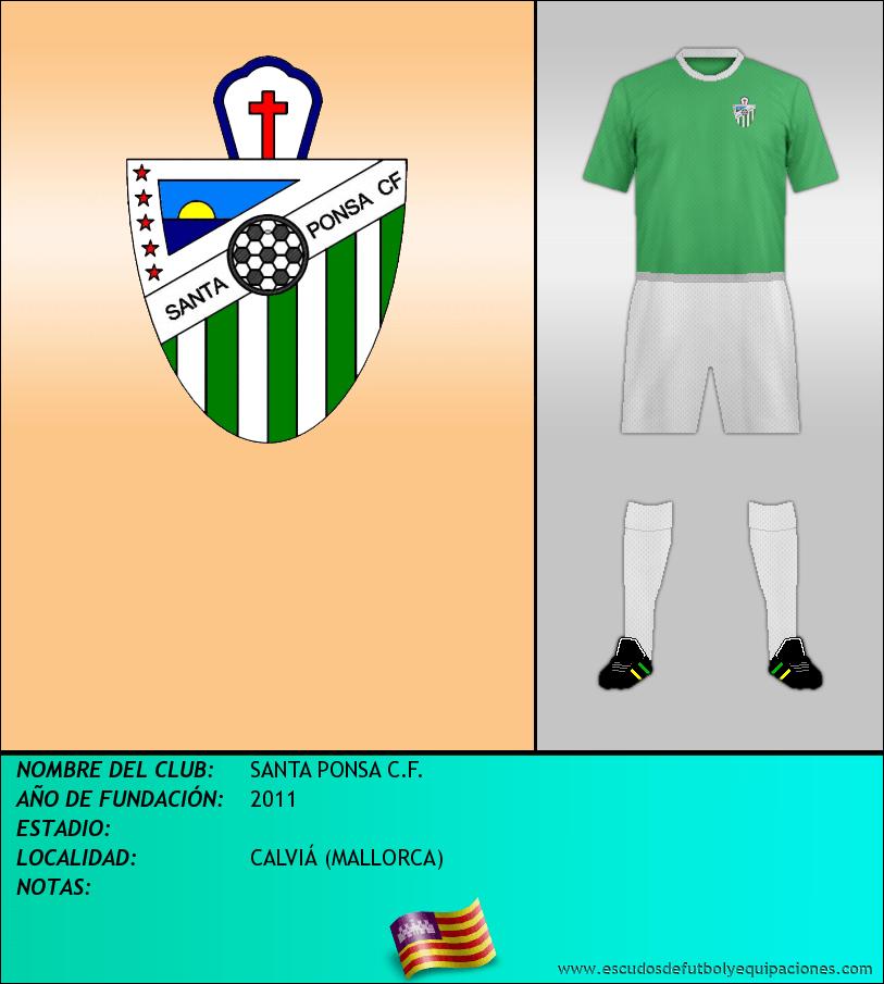 Escudo de SANTA PONSA C.F.