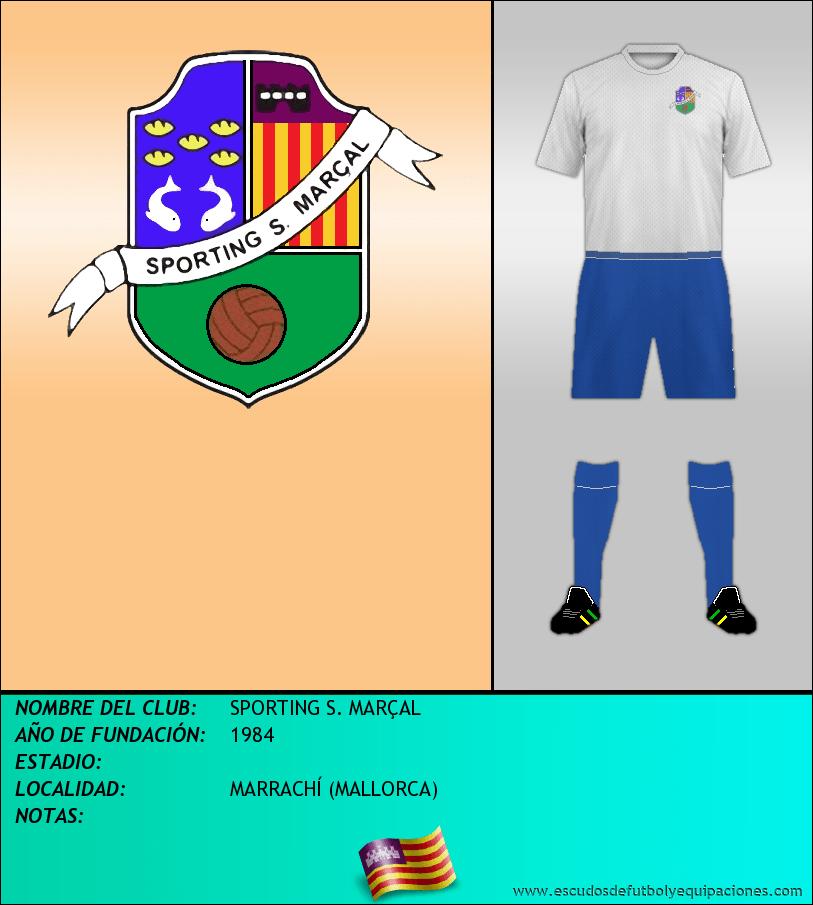 Escudo de SPORTING S. MARÇAL