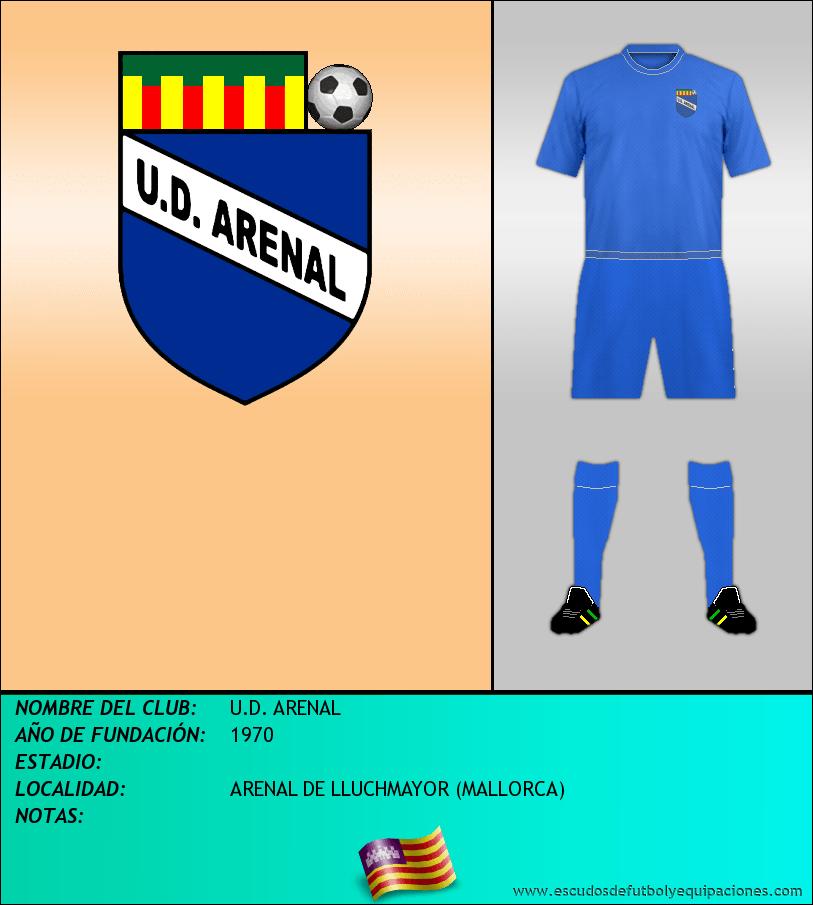 Escudo de U.D. ARENAL