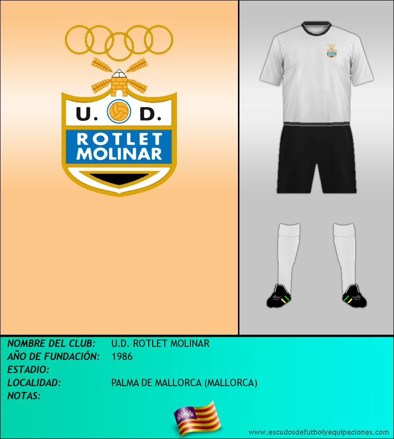Escudo de U.D. ROTLET MOLINAR