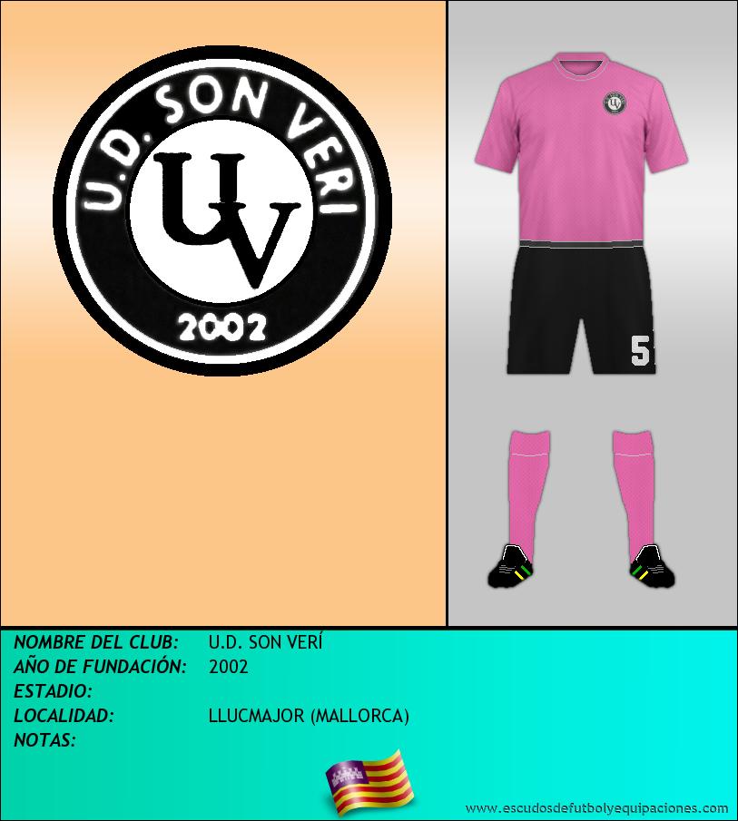 Escudo de U.D. SON VERÍ