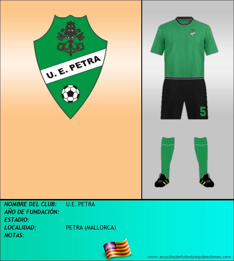 Escudo de U.E. PETRA