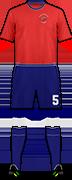 Equipación ISORA F.C.