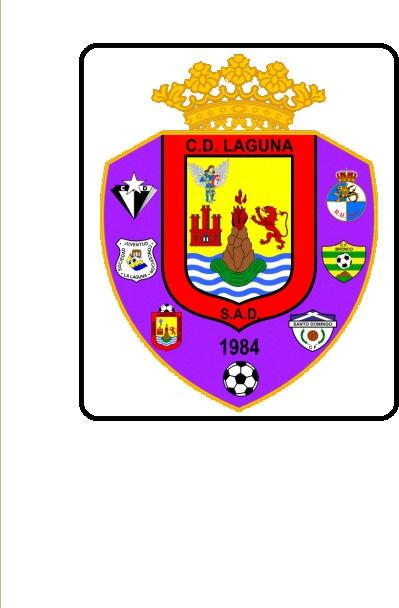 Escudo de A.D. LAGUNA  (ISLAS CANARIAS)