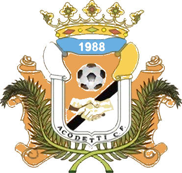 Escudo de ACODETTI C.F. (ISLAS CANARIAS)
