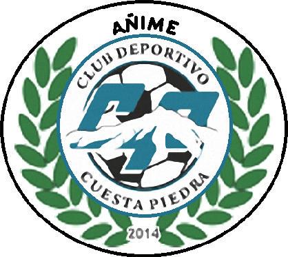 Escudo de C.D. AÑIME CUESTA PIEDRA (ISLAS CANARIAS)
