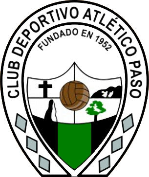 Escudo de C.D. ATLÉTICO PASO (ILHAS CANÁRIAS)