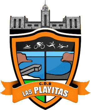 Escudo de C.D. BREÑAMEN LAS PLAYITAS (ISLAS CANARIAS)