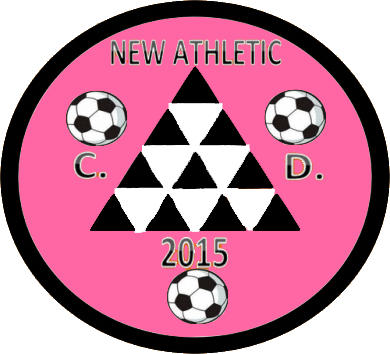 Escudo de C.D. NEW ATHLETIC (ISLAS CANARIAS)