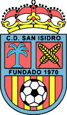 Escudo de C.D. SAN ISIDRO  (ISLAS CANARIAS)