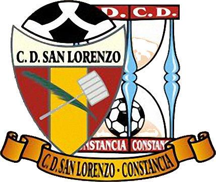 Escudo de C.D. SAN LORENZO-CONSTANCIA (ISLAS CANARIAS)