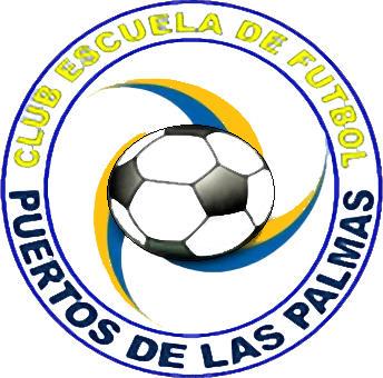 Escudo de C.E.F. PUERTOS DE LAS PALMAS (ISLAS CANARIAS)