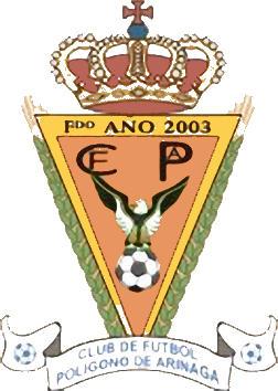 Escudo de C.F. POLÍGONO DE ARINAGA (ISLAS CANARIAS)
