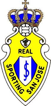 Escudo de REAL SPORTING SAN JOSE (ISLAS CANARIAS)
