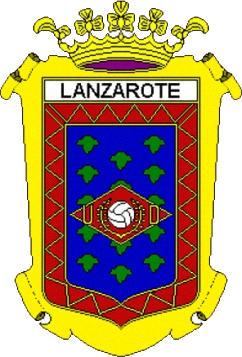 Escudo de U.D. LANZAROTE  (ISLAS CANARIAS)