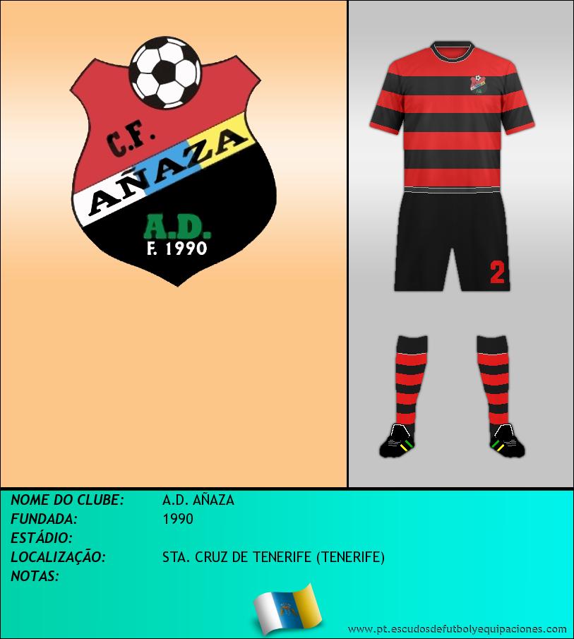 Escudo de A.D. AÑAZA