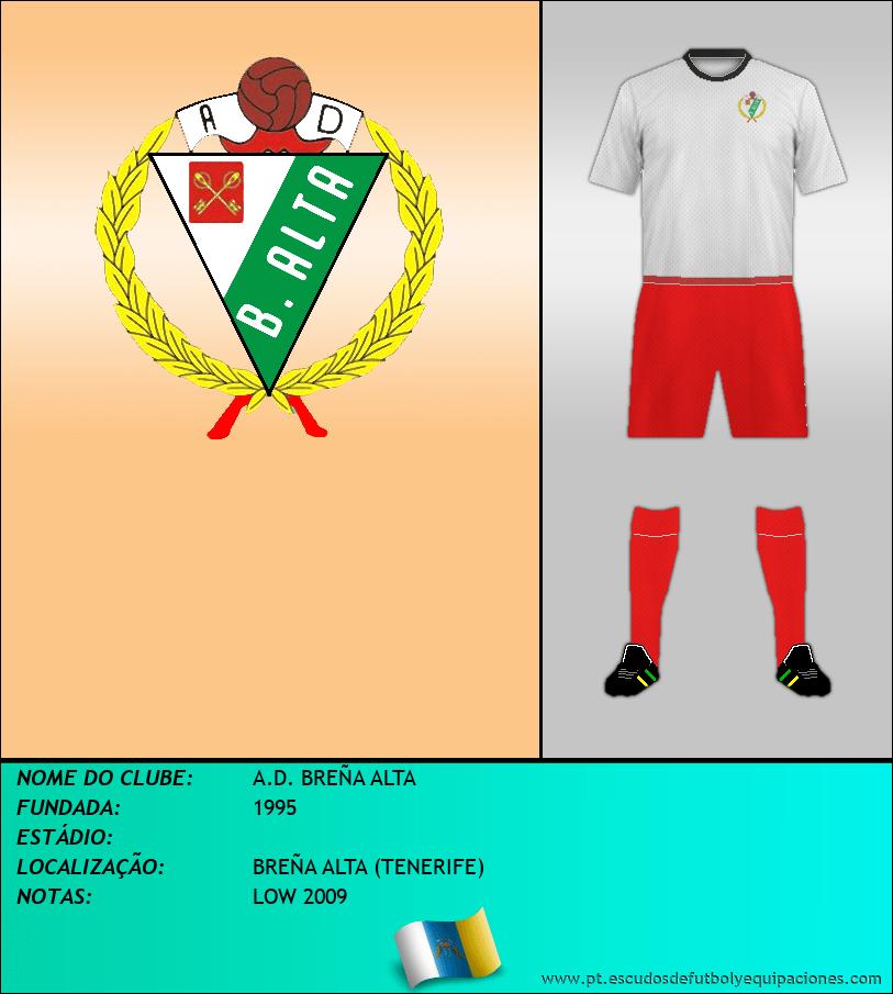 Escudo de A.D. BREÑA ALTA