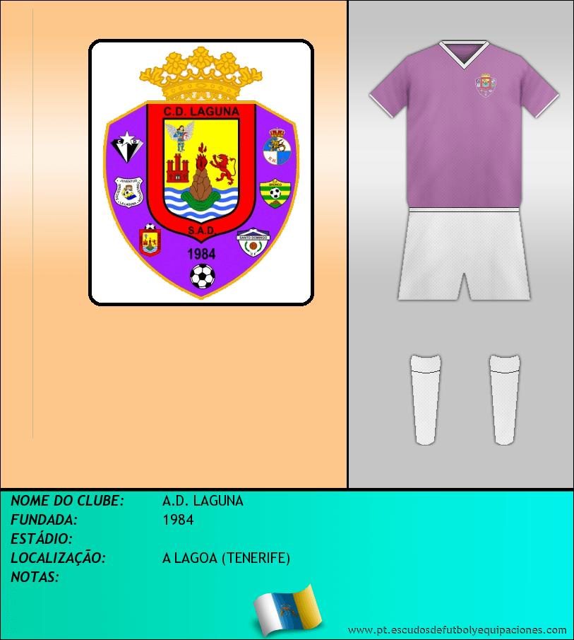 Escudo de A.D. LAGUNA