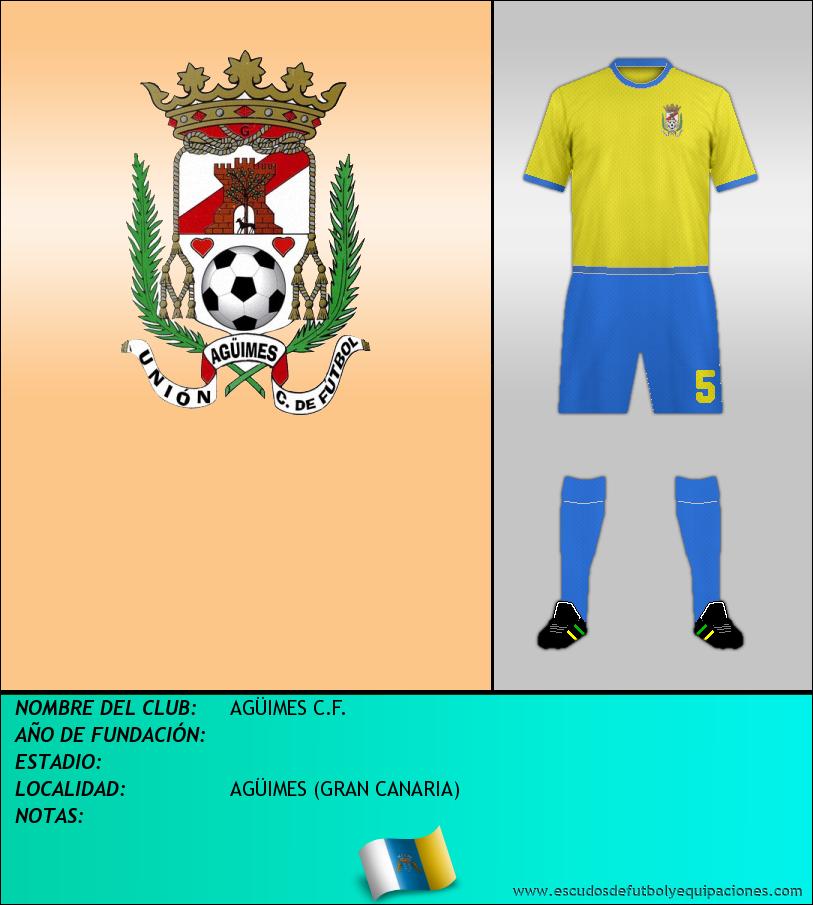 Escudo de AGÜIMES C.F.