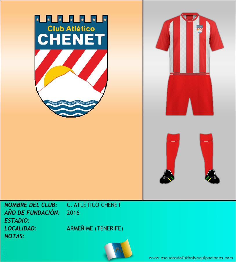 Escudo de C. ATLÉTICO CHENET