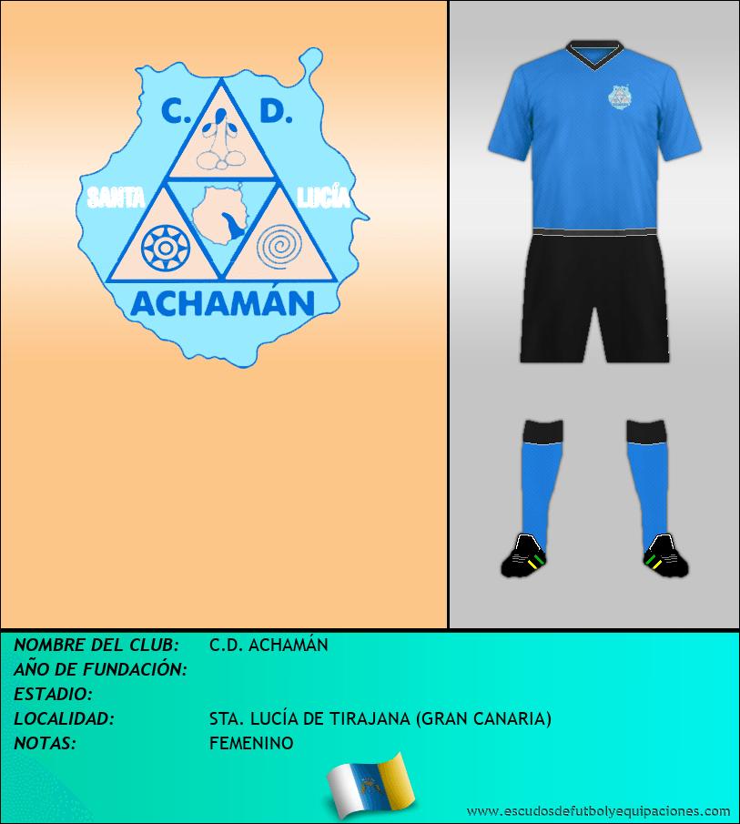 Escudo de C.D. ACHAMÁN