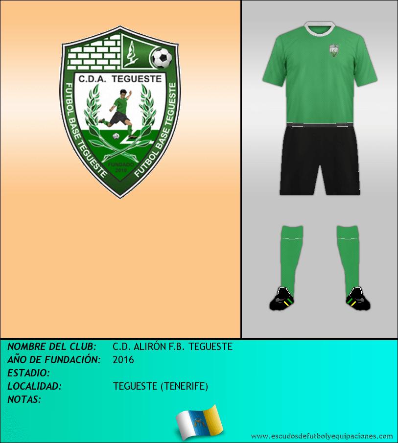 Escudo de C.D. ALIRÓN F.B. TEGUESTE