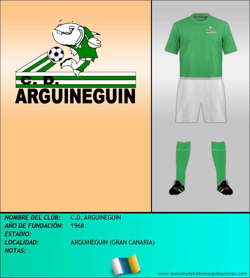 Escudo de C.D. ARGUINEGUIN