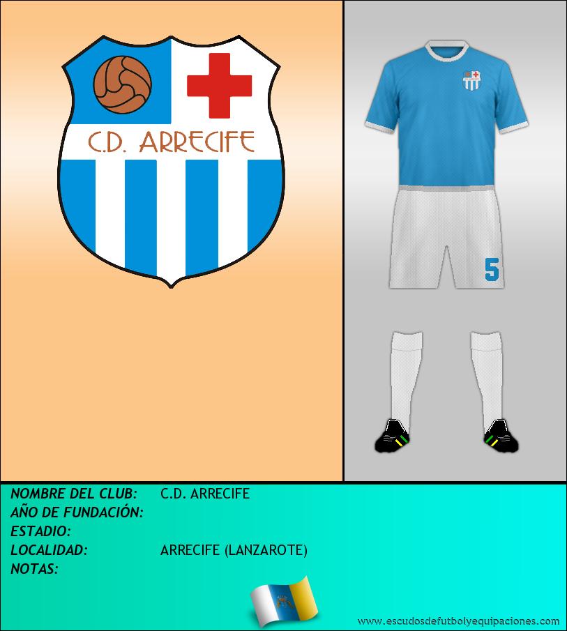 Escudo de C.D. ARRECIFE