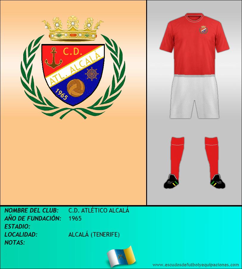 Escudo de C.D. ATLÉTICO ALCALÁ