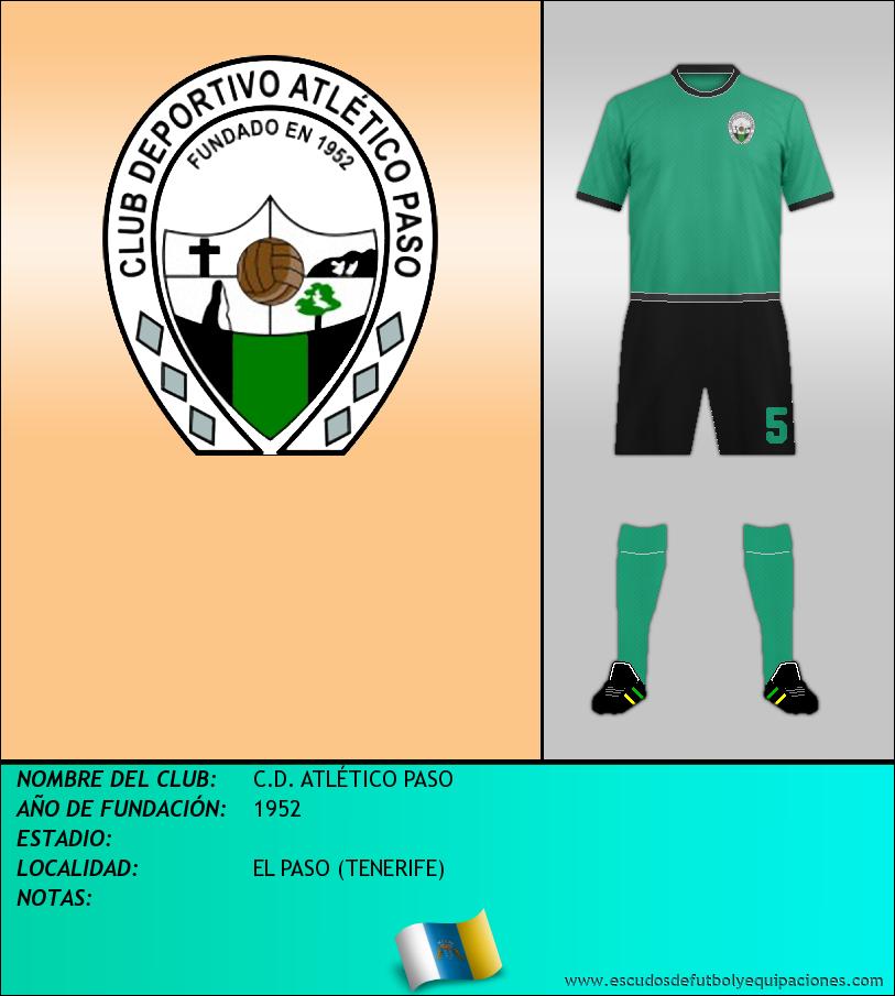 Escudo de C.D. ATLÉTICO PASO