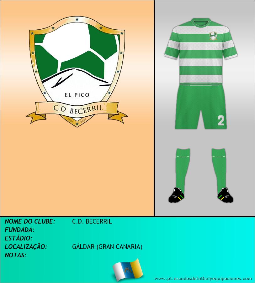 Escudo de C.D. BECERRIL
