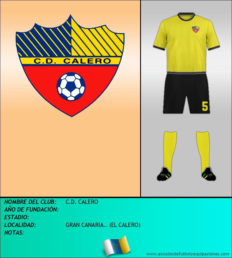 Escudo de C.D. CALERO