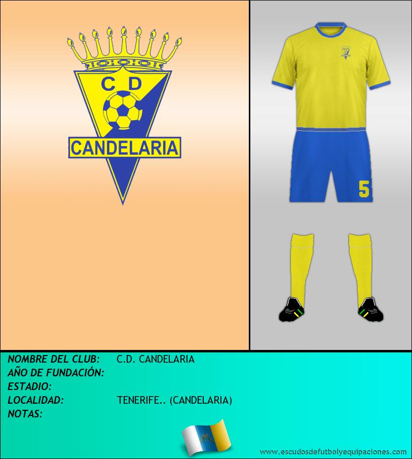 Escudo de C.D. CANDELARIA