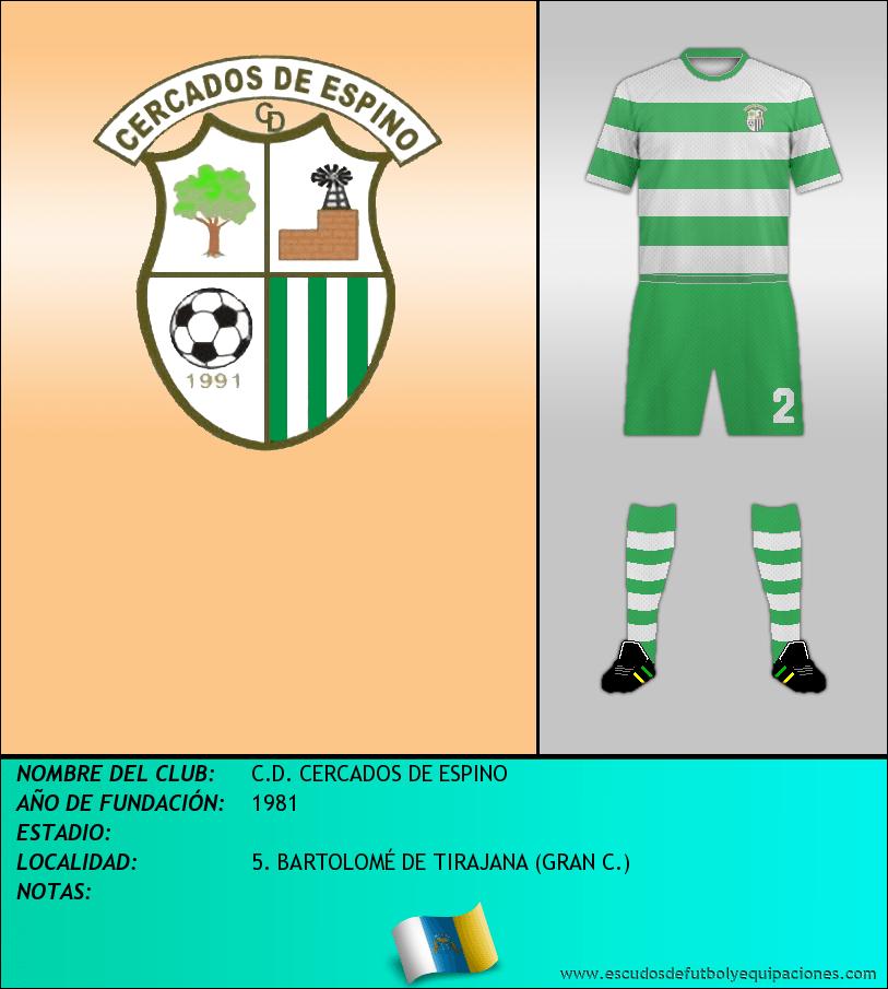 Escudo de C.D. CERCADOS DE ESPINO